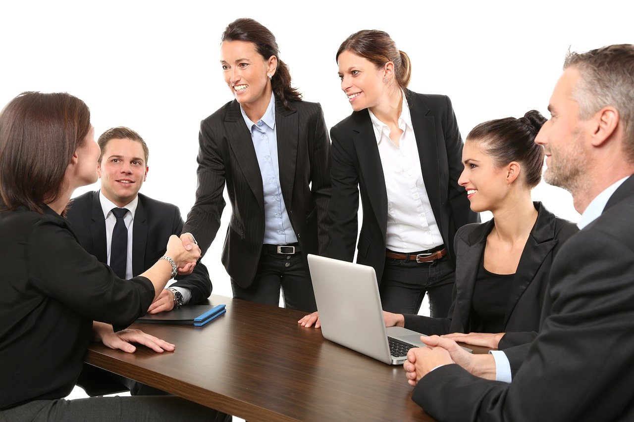 people, business, meeting